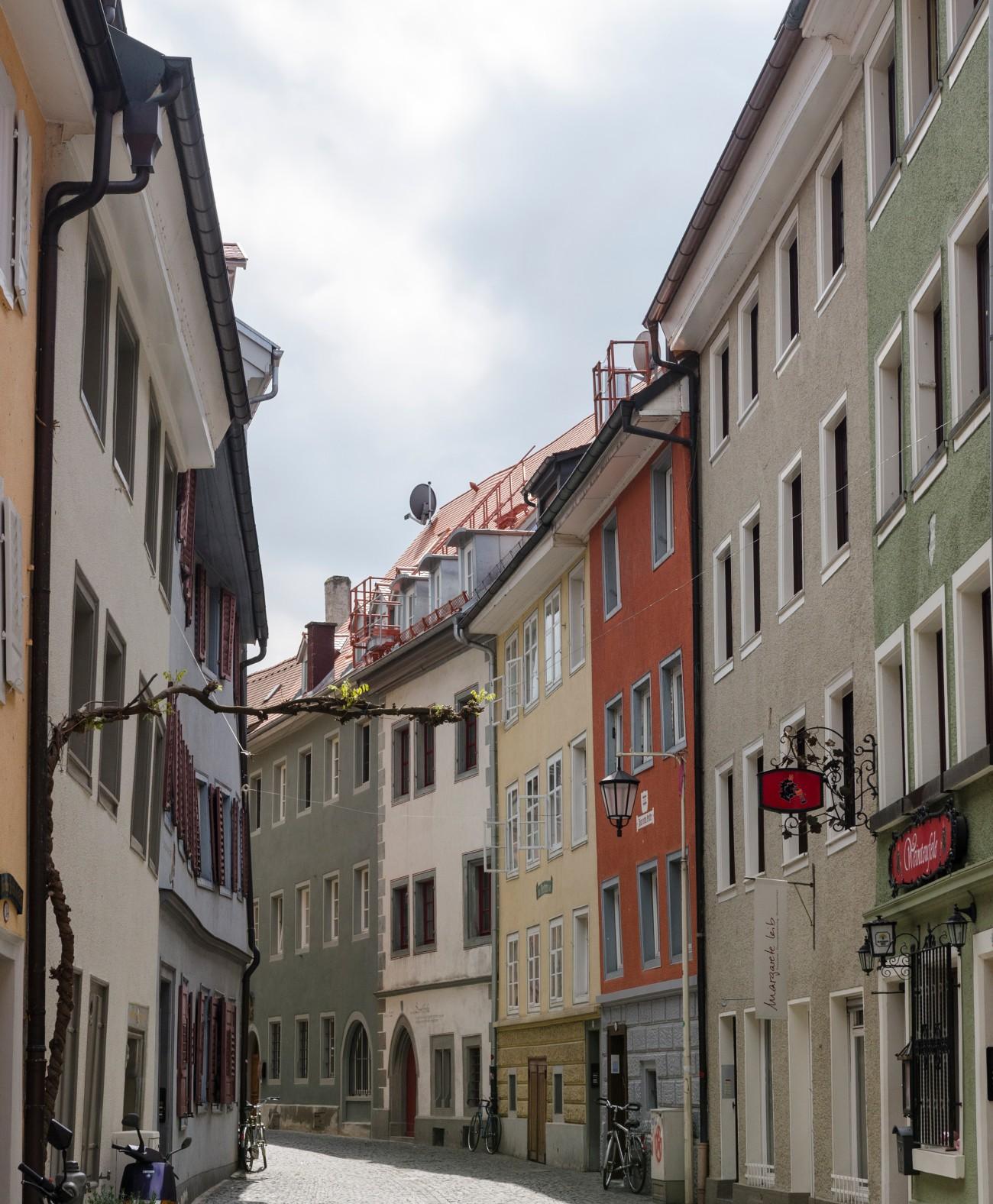Az Óváros egyik utcája