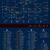 Hogyan kerülnek a szórakozóhelyek a metrótérképre?