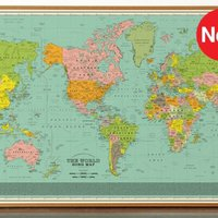 Ez a térkép az egész világot dalban írja le