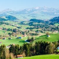 Appenzell, a leghíresebb svájci dombvidék