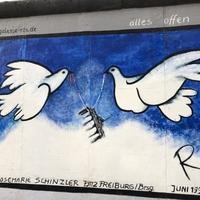 Börtönfalból lett a szabadság jelképe 30 éve a berlini fal