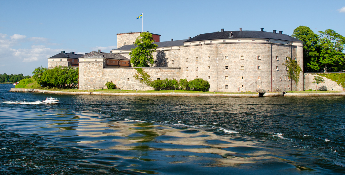 Vaxholm erődje - Fotó: dr. Szalai Krisztián