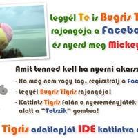 Bugris Tigris a facebookon