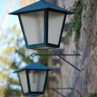Utcai lámpás