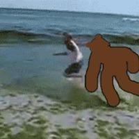 pedobear - tengerpart #2