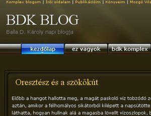 Új webhelyem: BDK BLOG