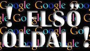 Google első oldal: laptop weboptimalizálás