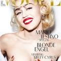 Miley Cyrus a német Vogue-nak is megmutatta