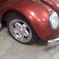 Laza's 69 Bug on fully polished Cookie Cutters