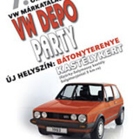 Saturday: VW Depo Party