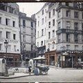 Színes fotók a korai 20. századi Párizsról