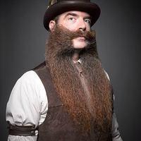 Egy szakáll- és bajuszverseny képei