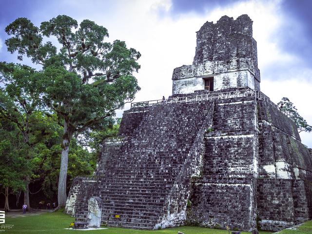Tikal - piramisok az őserdő mélyén