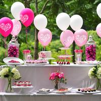 Ötletek esküvői lufidekorációkhoz