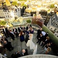 Esküvő tetőteraszon