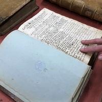 Az ország legrégebbi evangélikus anyakönyve