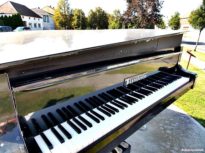Liszt Ferenc szülőfaluja, Doborján. (Raiding, Burgenland)