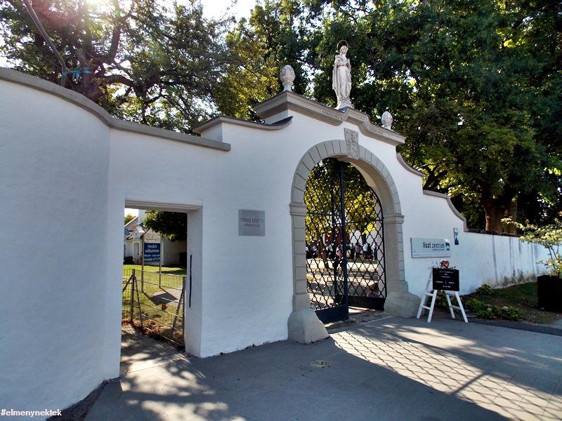 Liszt Ferenc szülőháza Doborjánban. (Raiding, Burgenland)