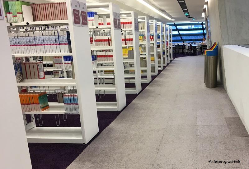 Könyvtárnyi tudás a WU, a Közgazdaságtudományi Egyetemen.