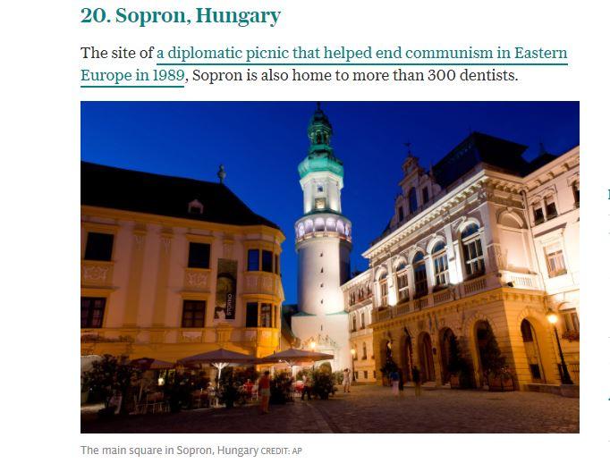 a legjobb város Európában