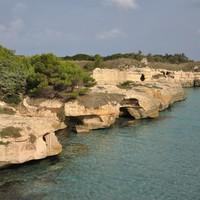 Tengerpartok Lecce környékén