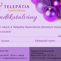 Ajándékozz nyelvtudást karácsonyra!