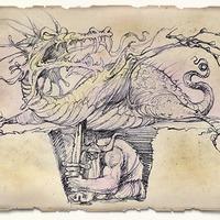 Így született a Walter, a falra föstött sárkány (1)