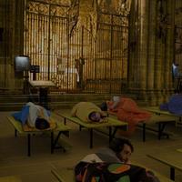 Isteni lakáskultúra - hajléktalanszálló a templomban