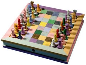 színes sakk