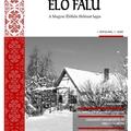 Megjelent az Élő Falu magazin első száma