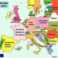 Európa országai a jövőben