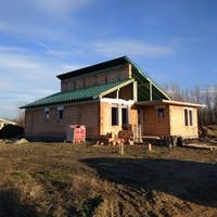Az építkezés lépései - 3. rész - Tető alá kerülünk