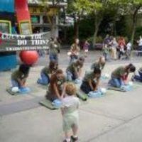 CPR Flash mob