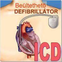 Beültethető defibrillátor