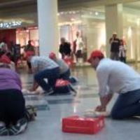 CPR flash mob