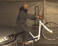 Kész a bicajosoknak szánt légzsáksisak