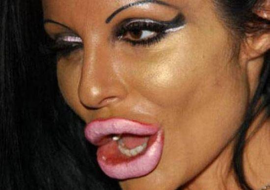 Vörös ajkak szopást