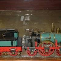 Elsők között: Vasútmodellek babaházból