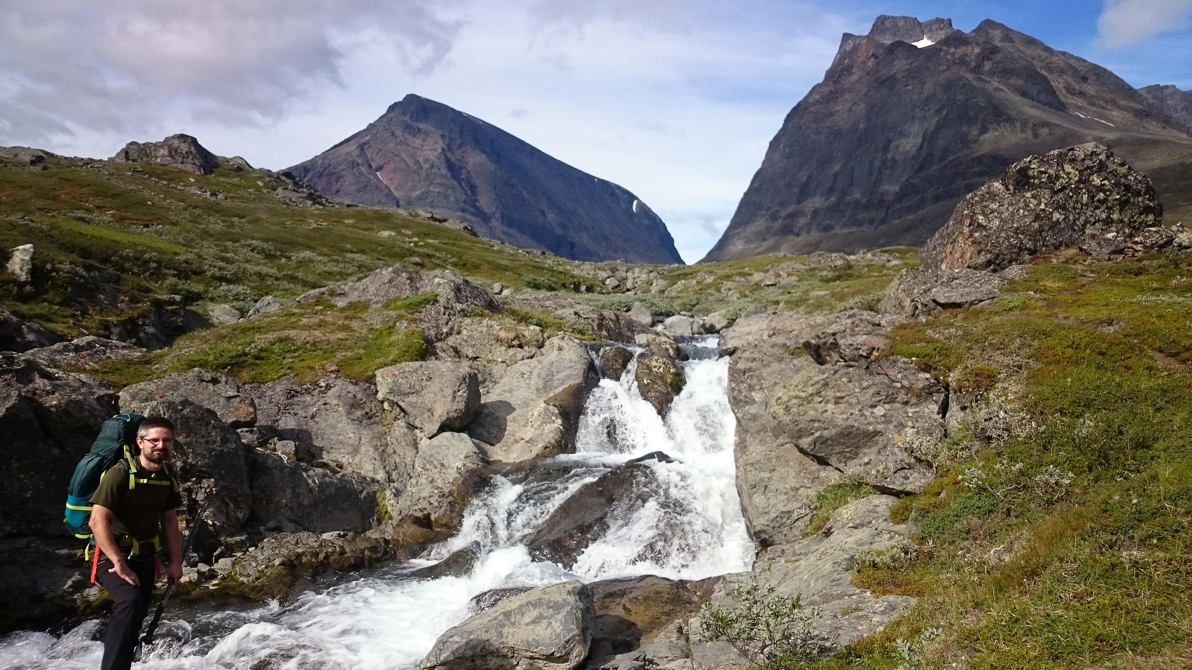 Vízvételezésre alkalmas hely - és még nagyon mutatós is.