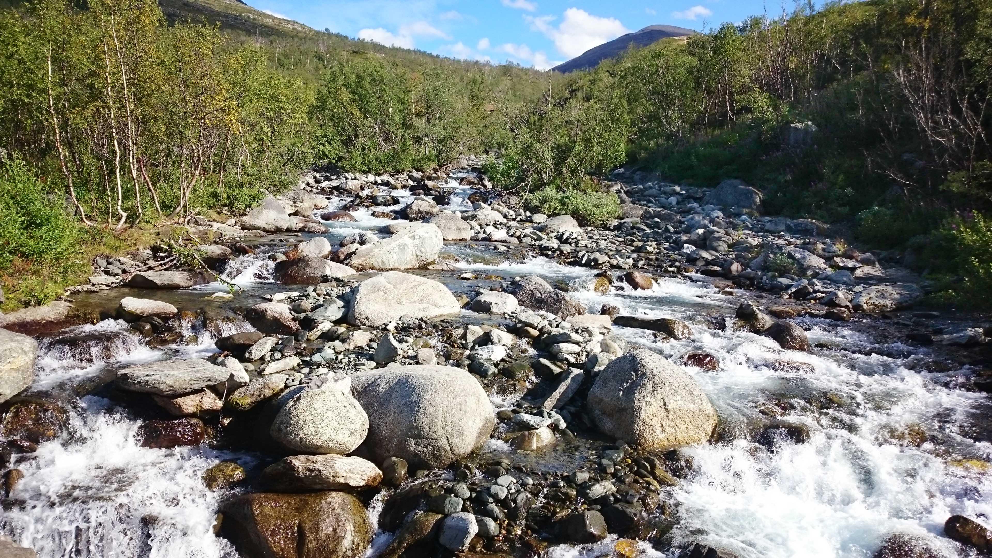 A lábmosó folyó.