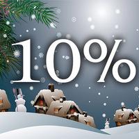 Már fut az év végi 10%-os akció! Le ne maradj róla!