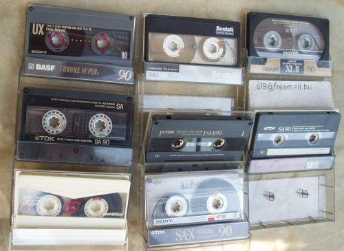 Az első magnókazetták, a legjobb rádióból felvett válogatások a mai napig ezeken vannak!