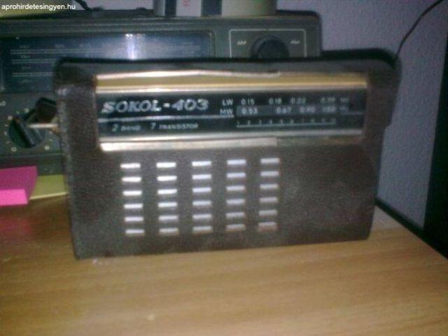 A rádiózás hőskorából egy igazi Sokol rádió