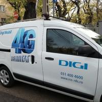 Láttad már a DIGI 4G-s matricás autóját?
