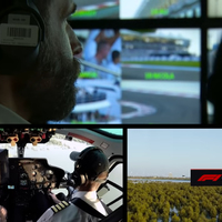 Így készülnek a Forma-1-es közvetítés helikopteres felvételei