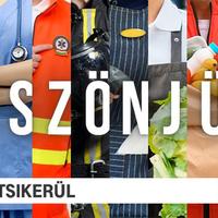 Azok előtt tiszteleg az RTL Magyarország kampánya, akik azon dolgoznak, hogy ne álljon le az élet