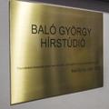 Hírstúdió őrzi Baló György emlékét