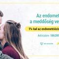 1%-kal az endometriózissal küzdőkért!