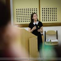 Dara Rebeka, klinikai dietetikus előadása