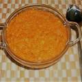 Paradicsomos vöröslencse-főzelék